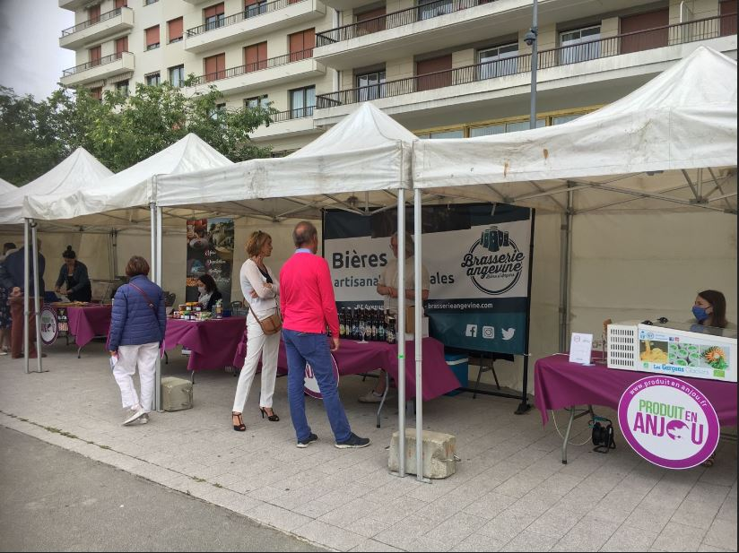 marché braderie angers 2021 place Lorraine